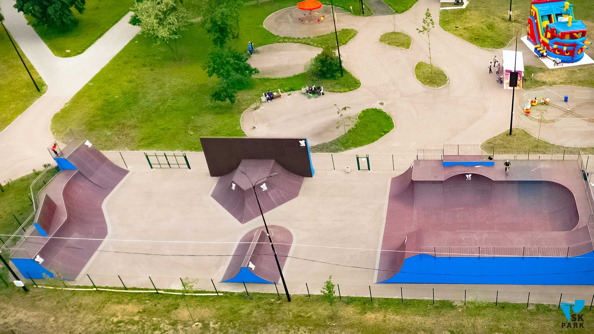 Универсальный экстрим парк в г.Котовск