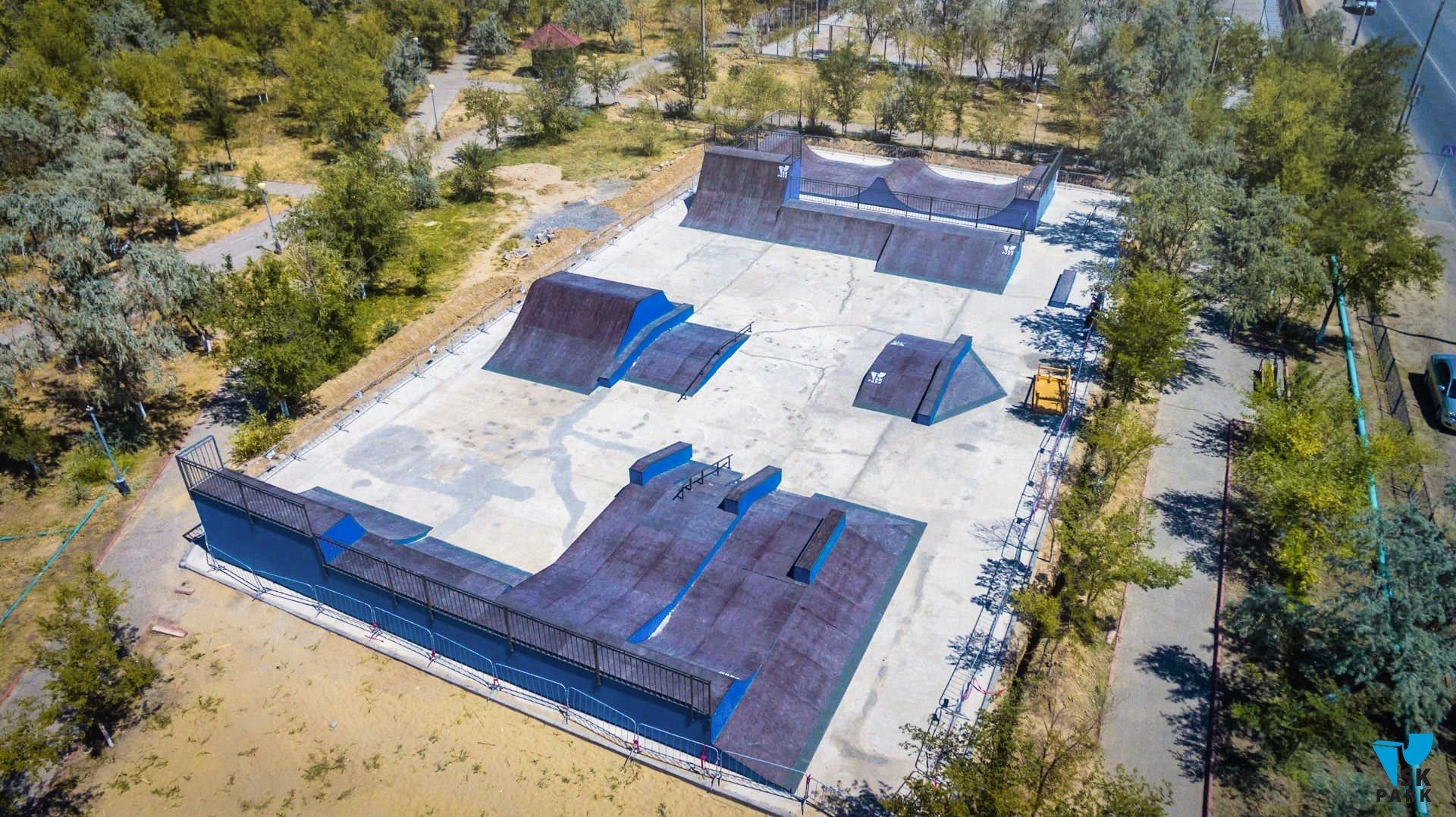 Универсальный скейт-парк в г. Байконур.