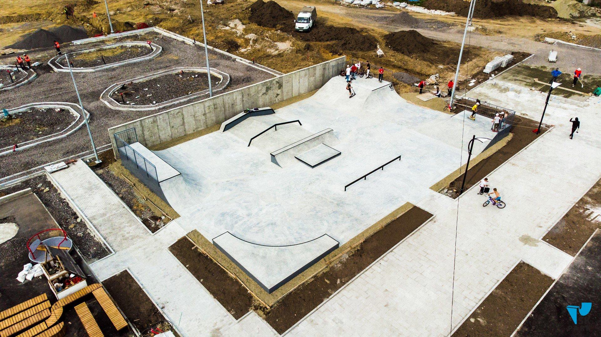 Бетонный скейт парк в г. Нижний Тагил