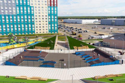Фото Скейт парк в г. Ханты-Мансийск