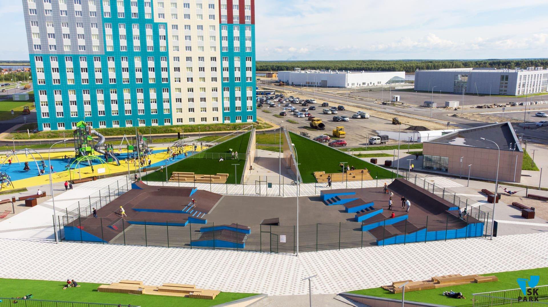 Скейт парк в г. Ханты-Мансийск