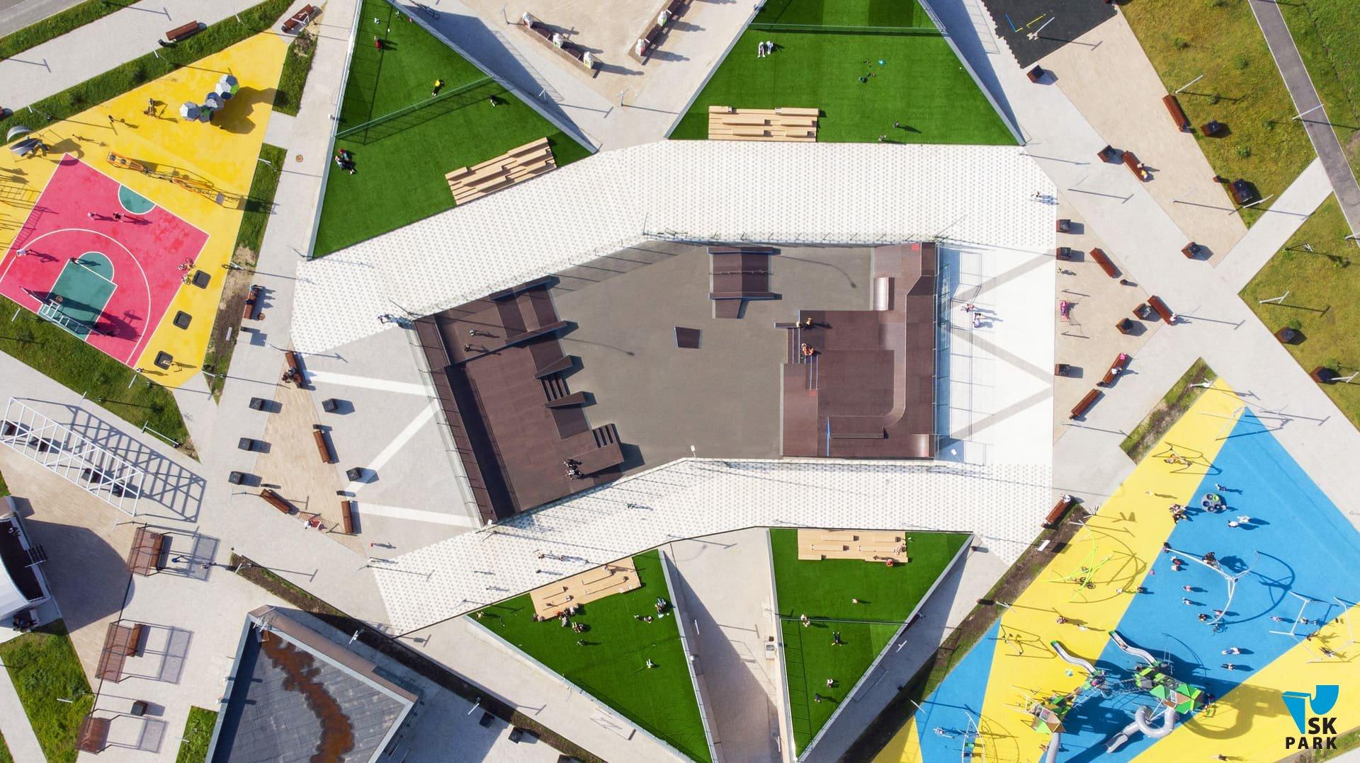 Новый скейт парк в г. Ханты-Мансийск