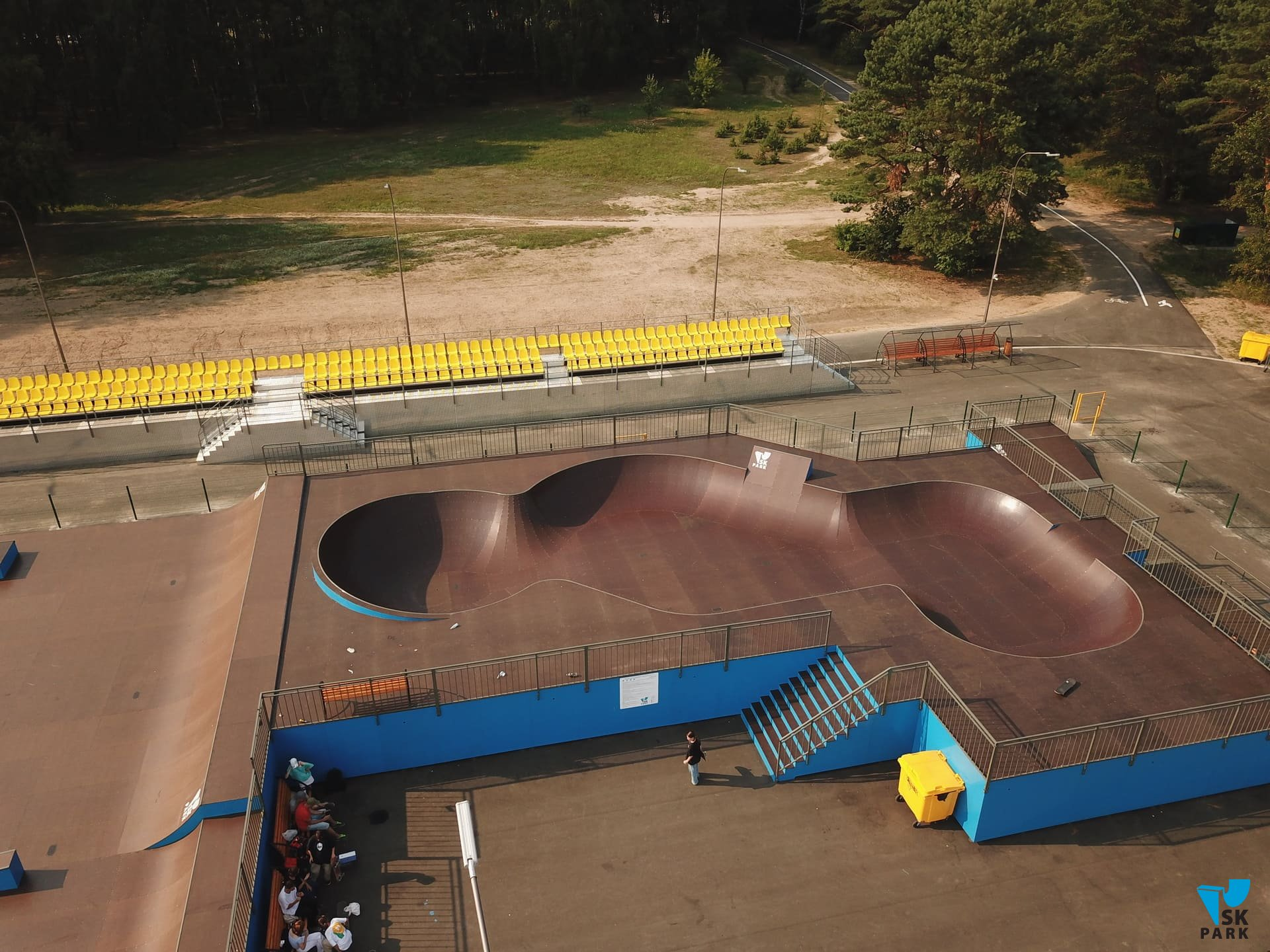 Скейт парк в г. Солигорске (республика Беларусь)